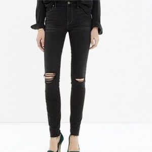 Madewell 9in High Riser Skinny